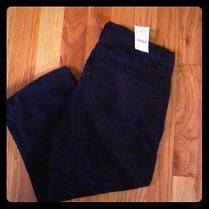 NWT Jcrew women's navy blue corduroy pants
